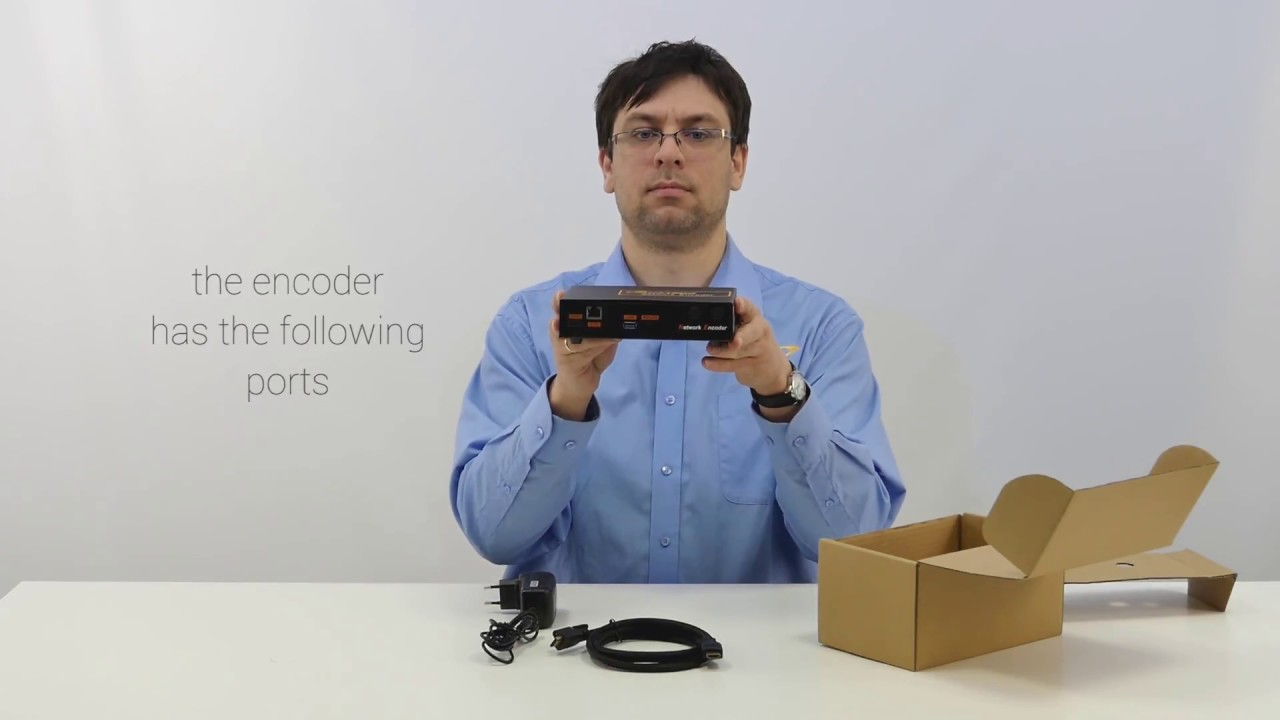 HDMI to IP Encoder SIGNAL-433 media streaming to mobile devices