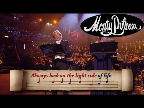 Always Look on the Bright Side of Life SingAlong  Monty Python