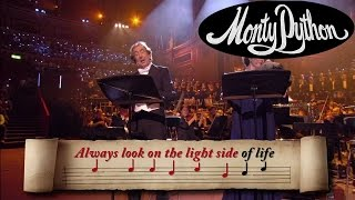 Always Look On The Bright Side Of Life Sing Along Monty Python