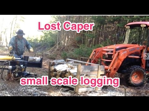 Small Scale, Low Impact, profitable Firewood Wood Production