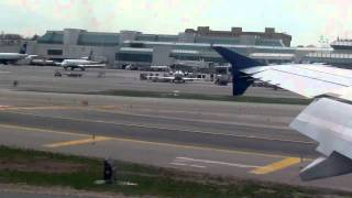Delta Airlines (Shuttle) Airbus A319 Landing At New York