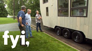Tiny House Nation: Flat Tire, Tiny House  Season 4, Episode 2  | Fyi
