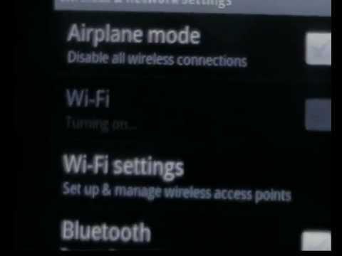 Huawei U8800 WiFi error