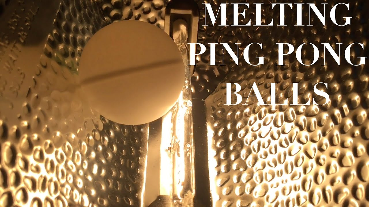 ping pong lighting. Melting Ping Pong Balls With A 500w Halogen Light Bulb Lighting E