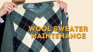 How to Wash and Maintain Wool Sweaters - Laundry Hacks