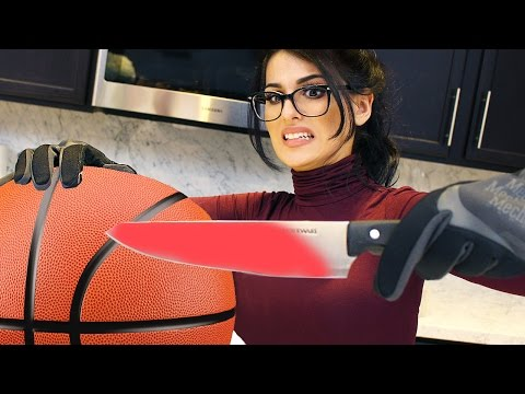 Thumbnail: EXPERIMENT Glowing 1000 degree HOT KNIFE VS BASKETBALL