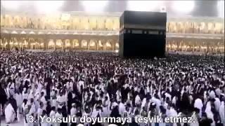 107 Maun Suresi İbrahim Jibreen Türkçe Altyazılı Mealli Kuran dinle, The holly quran