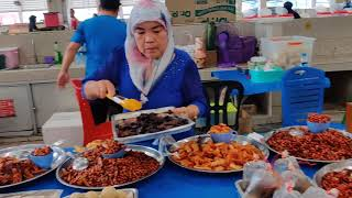 Gadong Food Market in Brunei