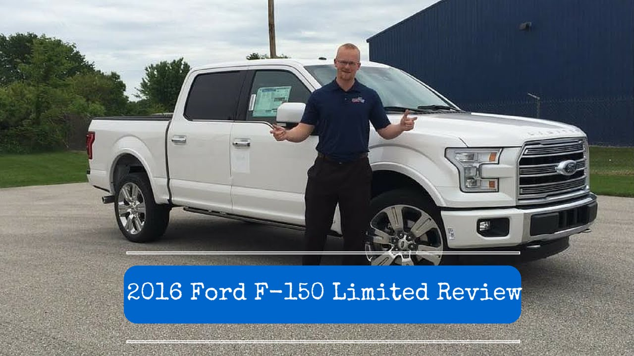 2016 Ford F 150 Limited Review By Alex Buker At Andy Mohr Plainfield Indiana In
