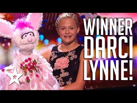 WINNER DARCI LYNNE: America's Got Talent 2017 | All AUDITION