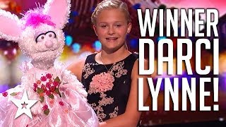 WINNER DARCI LYNNE: America's Got Talent 2017 | All AUDITIONS & PERFORMANCES | Got Talent G