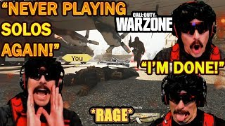 DrDisrespect Shows Why He'll NEVER Play COD Warzone Solos Again! (\