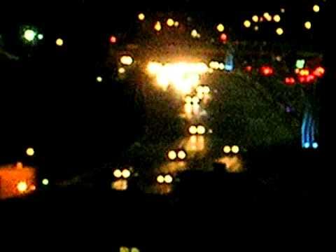 Interstate 35W in Minneapolis, Nighttime