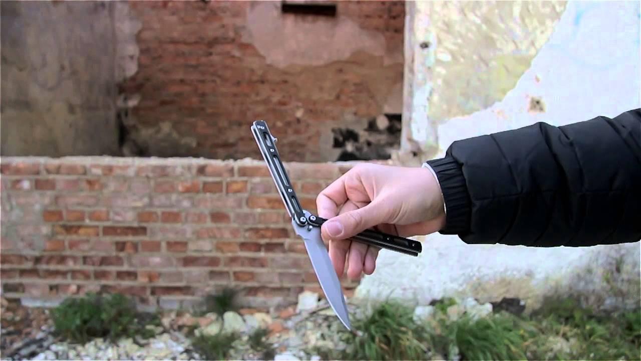 Jak opanować nóż motylkowy #5 - Thumb Roll