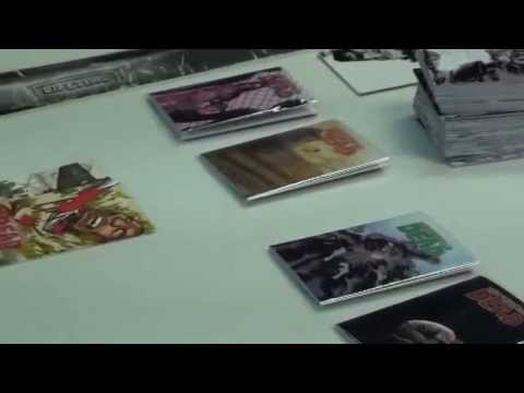 Unboxing of the Walking Dead Trading Cards
