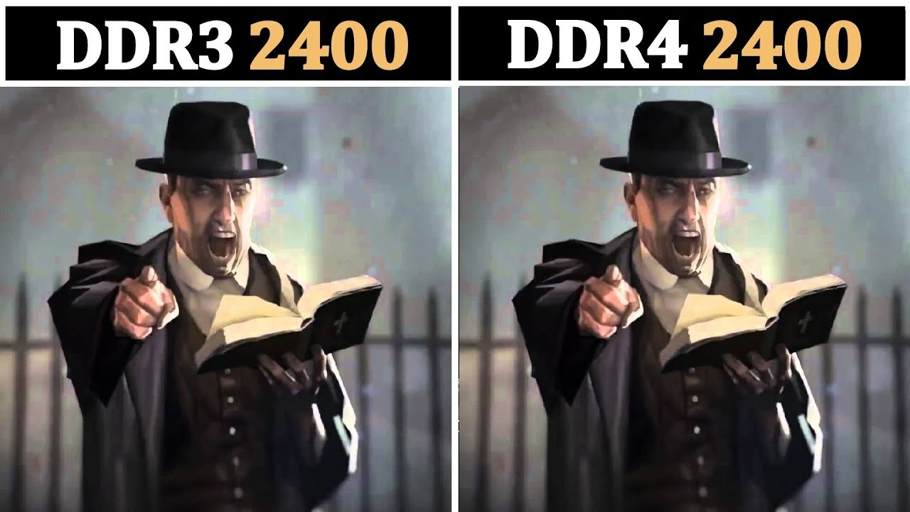 8GB (DDR3 2400 vs DDR4 2400) | Testing 15 Games |