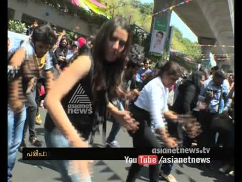 Open Streets fest in Bangalore MG Road