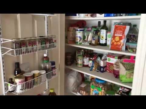 how to install closetmaid kitchen pantry door rack