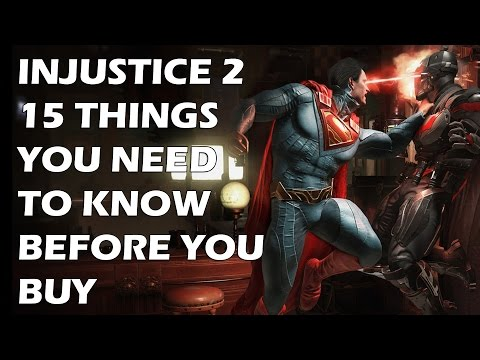 Injustice 2 - 15 Things You ABSOLUTELY NEED To Know Before You Buy