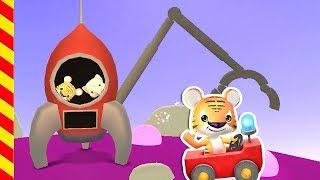 Мультик про космос. Космическая ракета мультфильм. Машинки детям. Животные мультик Животные смотреть