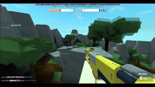 Gun game si so much fun. Go crazy on roblox 4