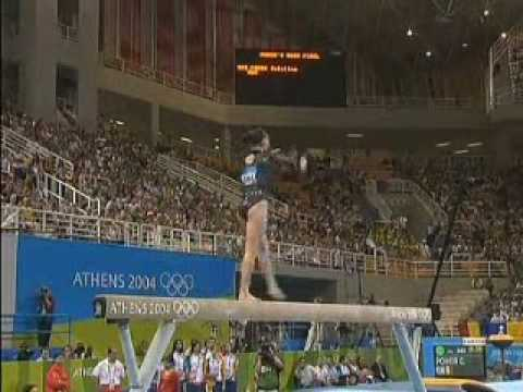 Olympic Champions  Athens 2004 Beam  Catalina Ponor