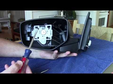 Replace 2008-2010 Honda Accord Side Mirror, How to Change Install Skull cap 2009