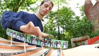 mike schneider fingerboard double stairset session