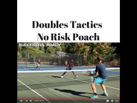 Doubles Tactics: No Risk Poach