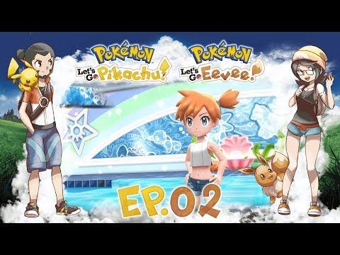 Gameplay Live Pokémon Let's Go Pikachu ed Eevee #02 - Monte Luna e Celestopoli!