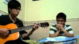 Thằng Tàu Lai - Harmonica & Guitar