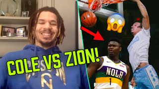 """Cole Anthony Calls LaVar Ball a GENIUS! Talks Dunking On ZION & Brings Jokes In """"Would You Rather"""""""