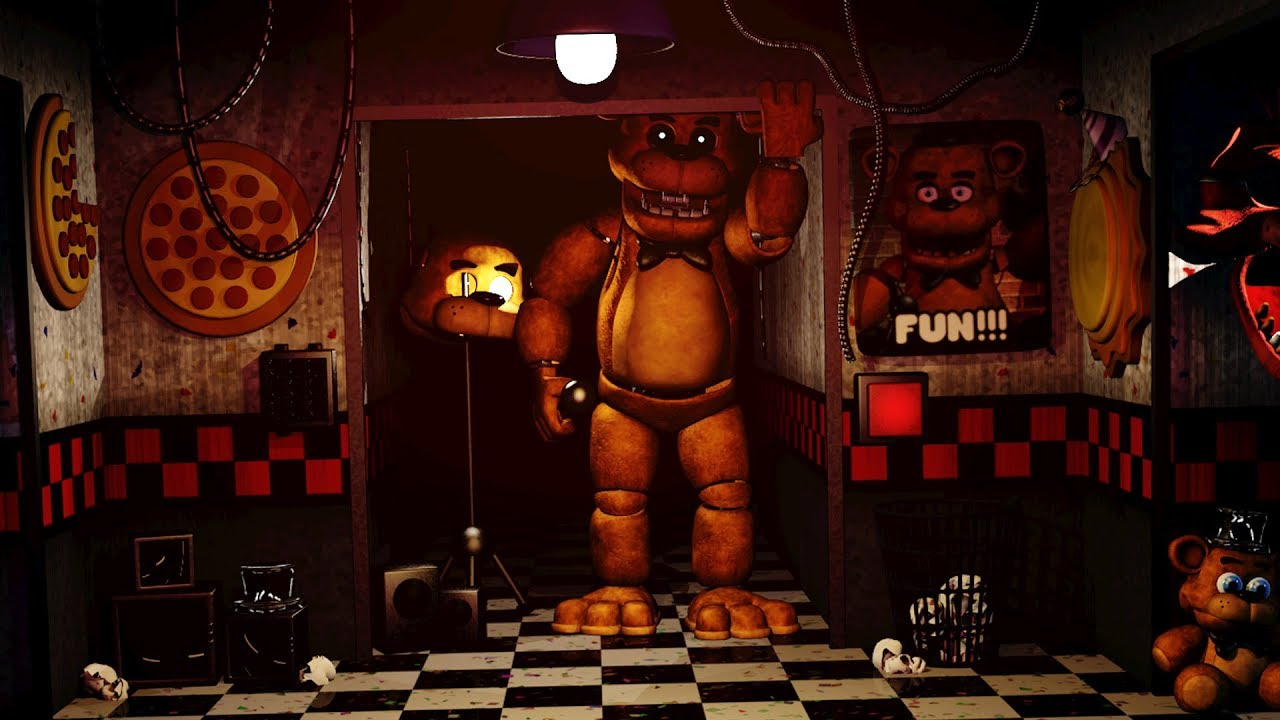 FREDDY FAZBEAR HAS NEVER BEEN SO TERRIFYING | FNAF Five Years at Freddy's  (Five Nights at Freddy's)
