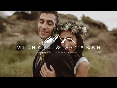 Epic Bohemian Mountaintop Wedding Video