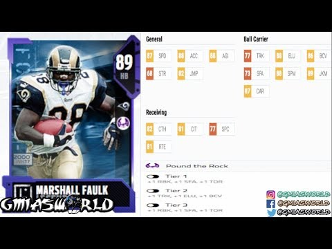 Madden 18 Gameplay: MARSHALL FAULK EXPECTED TO BE GLITCHEST RB IN MUT 18 GAMEPLAY!   MUT 18 LEAK