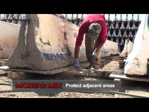 Rapid Set® Mortar Mix - YouTube