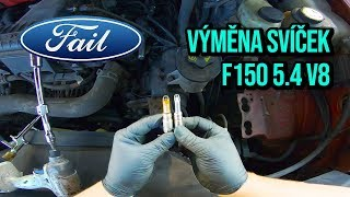 Spark plugs replacement on 04-08 Ford 5.4 V8 3v valve engine!
