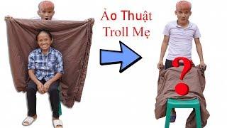 Hưng Vlog - Làm Ảo Thuật Tàng Hình Troll Mẹ Bà Tân Vlog | Prank Mom