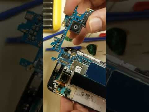 LG G5 water damage repair with full disassemble