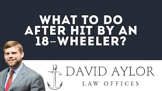 What To Do After Hit By A Tractor Trailer | Charleston SC Car Crash Lawyer
