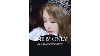 [ 3D + BASS BOOSTED ] 이달의 소녀/고원 [ LOONA/GoWon ] - One & Only - Stafaband