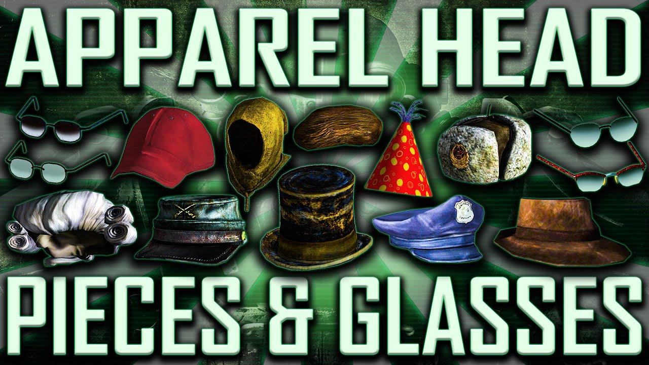 c64584fa051 Apparel Head Pieces   Glasses - Fallout 3 - Rare   Unique (Includes DLCs)