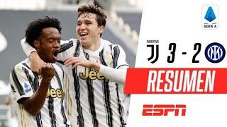 ¡DOBLETE DE CUADRADO EN EL TRIUNFO AGÓNICO DE LA JUVENTUS! | Juventus 3-2 Inter | RESUMEN