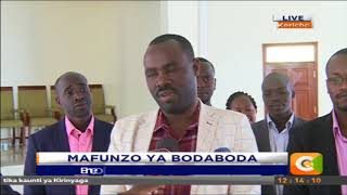 Mafunzo ya Boda boda kericho #CitizenExtra