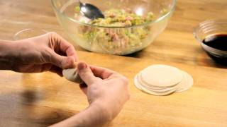How To Make Potstickers Dough And Sauce — Appetites®
