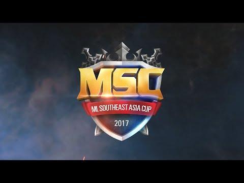 MSC : Mobile Legends Southeast Asia Cup - Indonesia Final 22~23 Juli 2017 at Gandaria City
