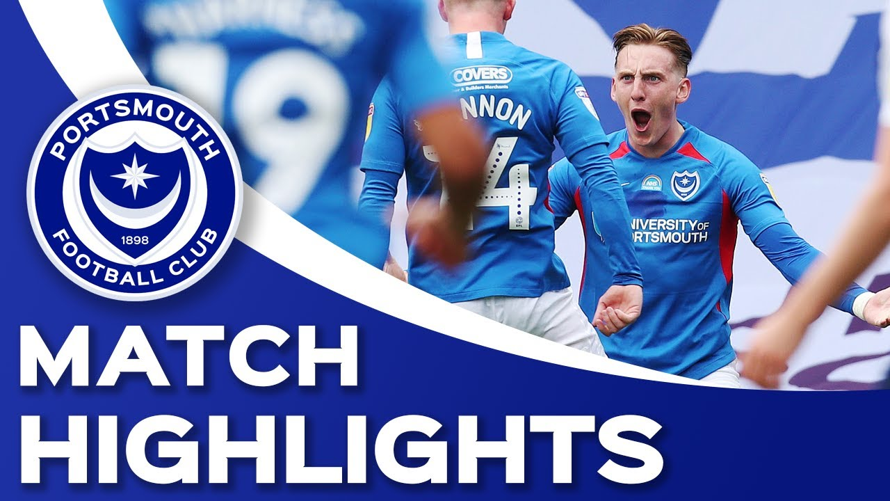 Highlights: Portsmouth 1-1 Oxford United (Sky Bet League One Play-Offs)