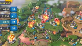 Lords Mobile- FREE TO PLAY TRAP!!! BATTLE REPORTS FROM KVK!!!  180k KILLED!