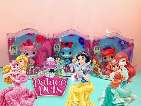 Palace Pets -  Treasure Beauty Berry - Ariel Snow White Aurora - Toys for little girls