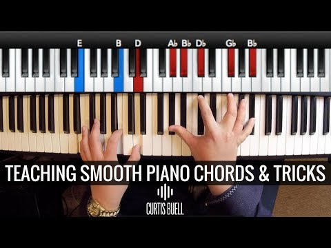 Teaching Smooth Piano Chords & Tricks //Demo'ing Spectrasonics Keyscape // Curtis Buell